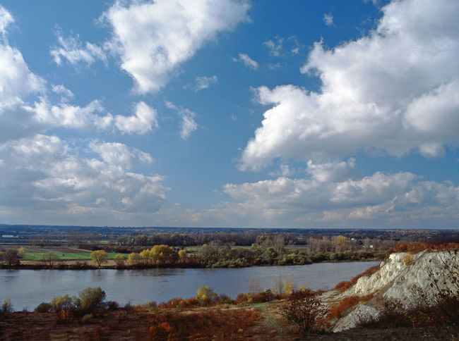 Beauty In Nature Clouds Day Landscape Nature Outdoors River Vistula Water Wisla Wisła