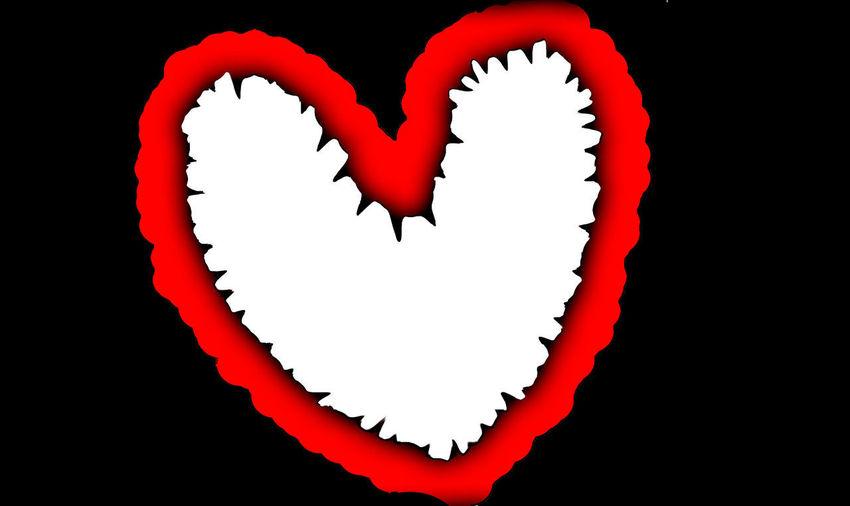 Red Shape Heart