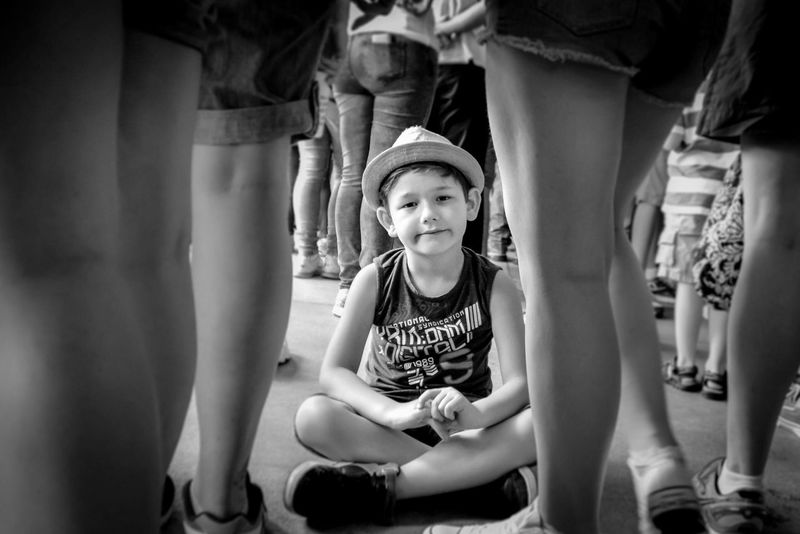 Queuing, It's no fun waiting in Line. Boy Child Queuing Q By Audi Blackandwhite Bored Showcase March Black&white Waiting Waiting In Line Black And White Theme Park My Favorite Photo People The Portraitist - 2016 EyeEm Awards The Portraitist - 2017 EyeEm Awards