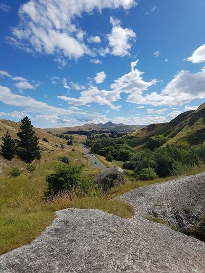 Amuri New Zealand Canterbury Lush - Description Nature Sky Blue Mountain Beauty In Nature Tree Cloud - Sky Outdoors Day