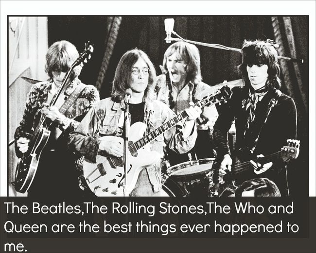 classic rock never dies! The Rolling Stones The Who The Beatles Queen ????
