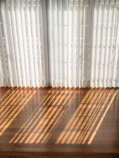 Wooden floor at home