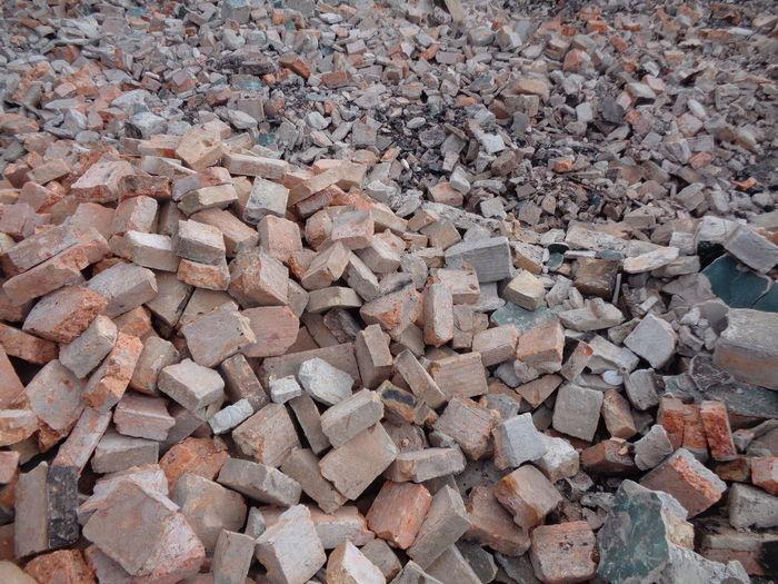 Pile of broken