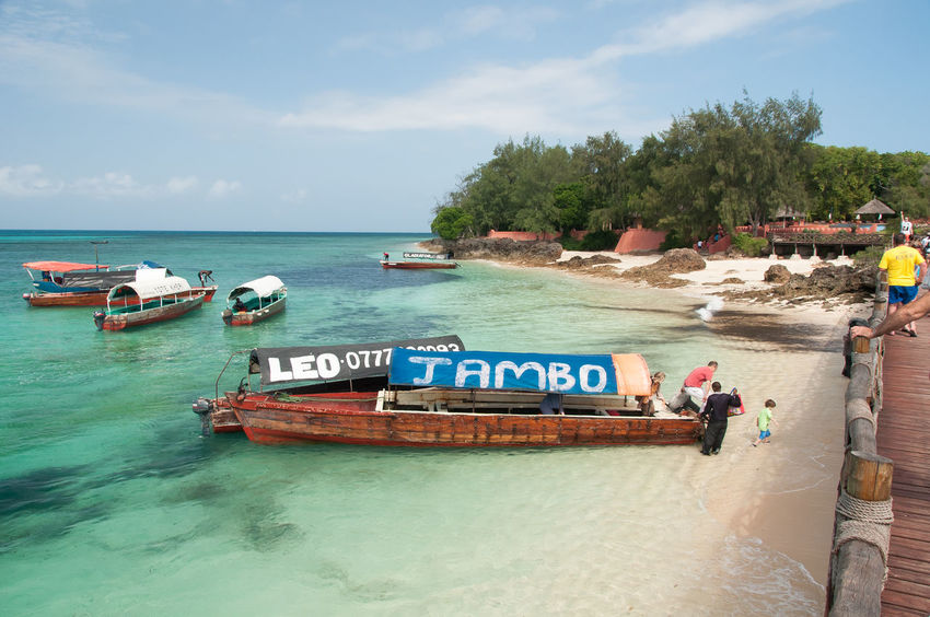 Prison Island Boats Indian Ocean Nautical Vessel Prison Island Sea Tropical Island White Sand Zanzibar