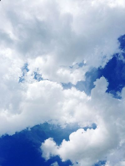 in the clouds Clouds Sky And Clouds Nature Clouds And Sky Lookupinthesky Blueskyandclouds Beauty In Nature No People