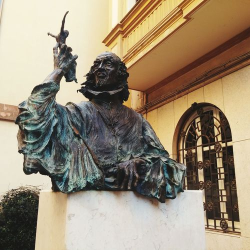 Monument to the Sculptor Pedro da Mena, Málaga,España