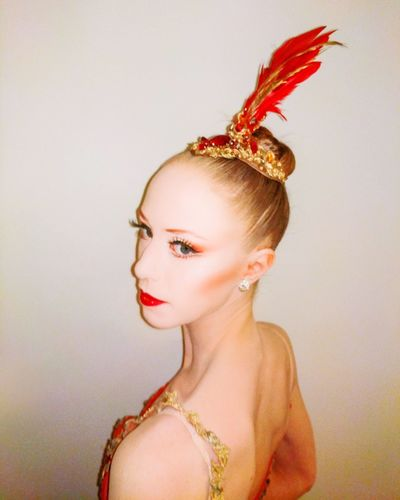 The Firebird NewYorkCityBallet Ballerina Beauty Headshot Make-up Portrait Power