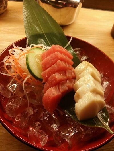 Ichiban! Sashimi for dinner....Yummy! (おいしい食べ物)😋😋😋 Dinner Time Sushi Japanese Food Sashimiday Yummy♡
