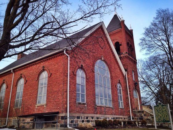 Winter Church Architecture Michigan