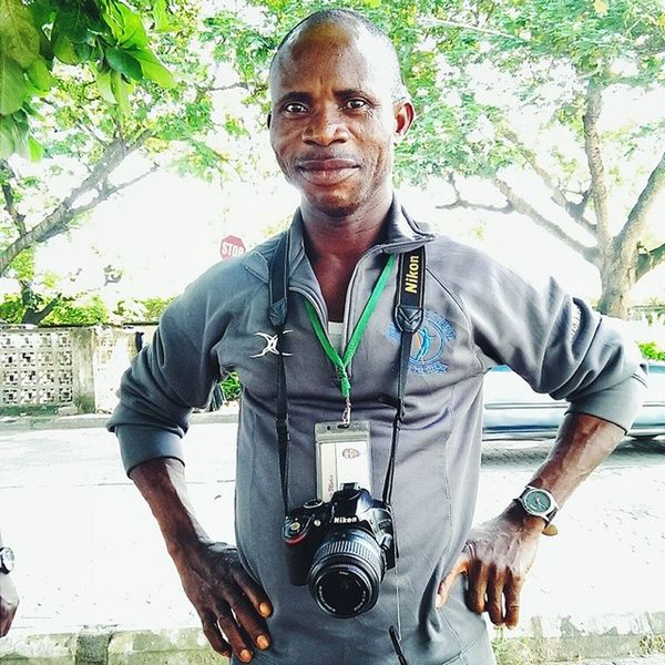 Portrait of photographer! Wale Photographer takes pictures on Bar Beach on weekends. Lagos Nigeria Africa Nikon photographer vscocam