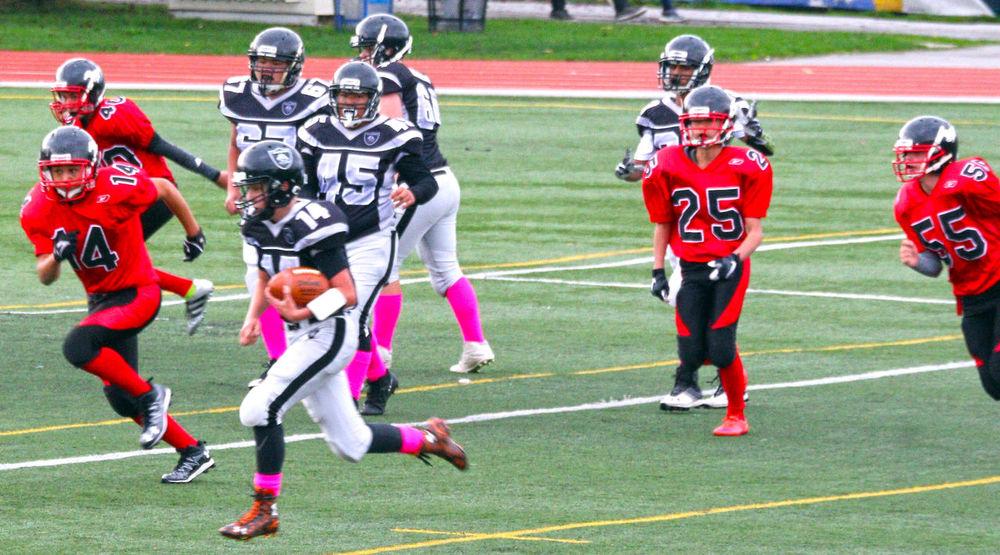 Junior football in Rivmond B.C. Canada. Sport Sports Clothing Uniform Headwear Sportsman Outdoors Running Sports Uniform Canada Minoru Park Richmond BC Junior Football Team Sport