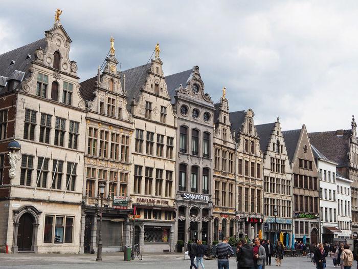 Taken in the spring of 2017 in the market square of Antwerp, Belgium Antwerp Belgium Building Classic Eu Market Square Market Square Houston Step Gabb Step Gabble Urban