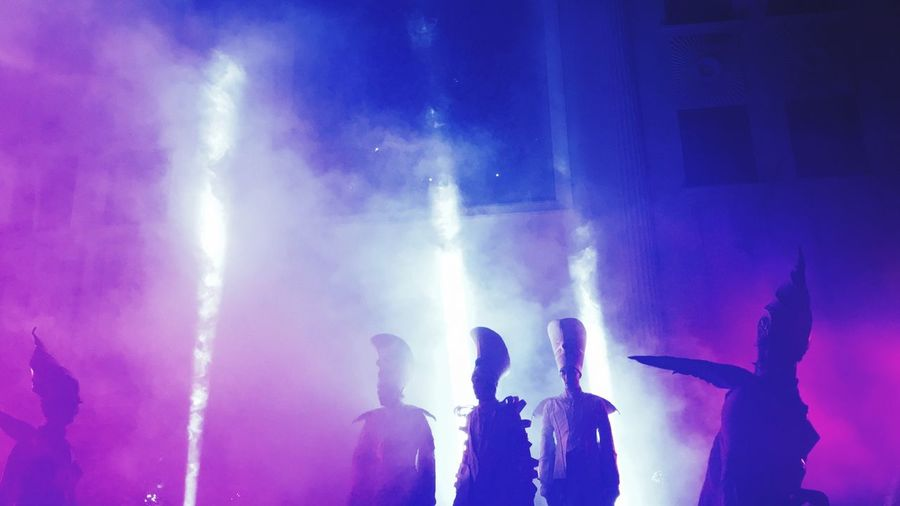 Close-Act @ Singapore Night Festival 2016 Weekend Activities Weekend Singapore Silhouette
