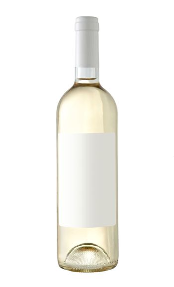 Wine bottle with blank label isolated on white background Yellow Paper White One Object Wine Bottle White Wine Grapes Wine Frontal View Mockup Mock Up Blank Label Glass Isolated White Background Bottle Studio Shot Container White Background Cut Out Glass - Material Indoors  Food And Drink Copy Space Single Object Close-up Drink Refreshment Transparent No People Food Blank