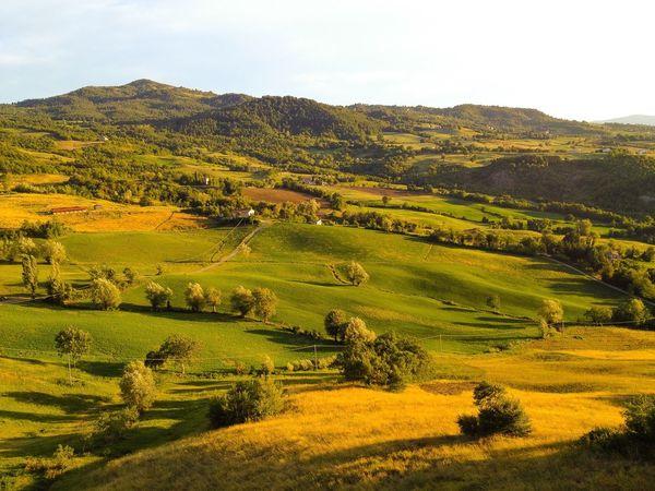 Italy, Emilia Romagna, San Leo, countryside Taking Photos Italy Emiliaromagna San Leo Countryside Scenic Travel Sunset
