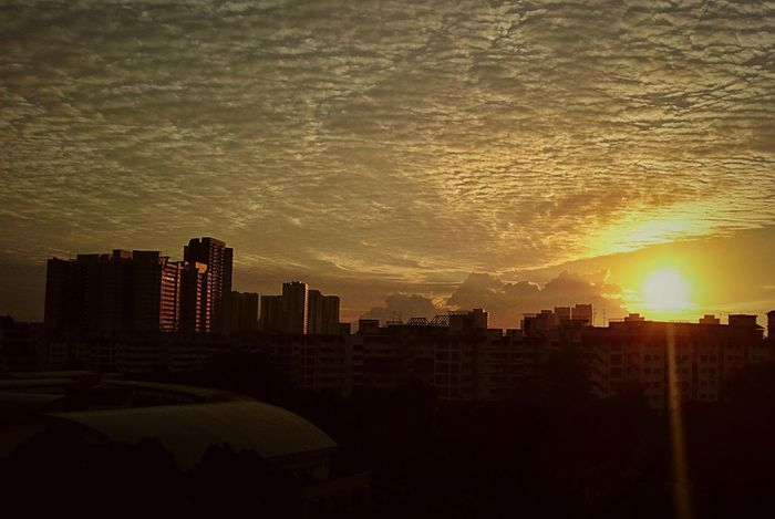 """""""Waking up to see another day is a blessing. Don't take it for granted. Make it count be happy that you're alive."""" Sunrise Sky Cloud - Sky Sky And Clouds Nature EyeEm Nature Lover Eye4photography  Architecture Clouds And Sky Built Structure Photography Outdoor Photography Skylovers Helloworld Check This Out Cityscape Urban Skyline City No People Building Exterior"""