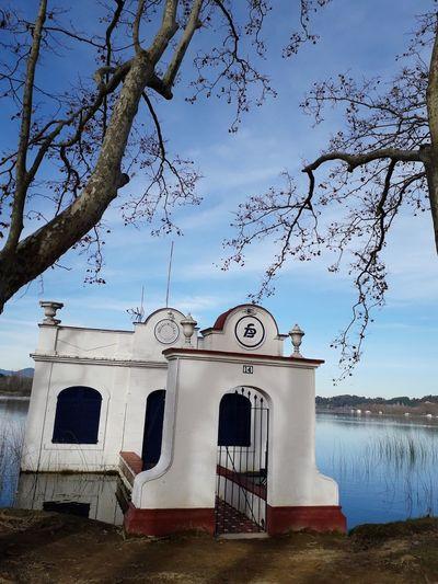 Pesquera Lake Estany De Banyoles Catalonia Catalunya Girona Banyoles Water Sky Cloud - Sky