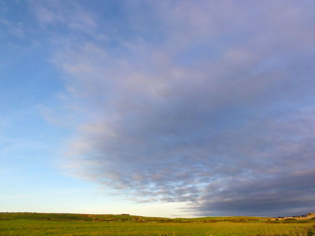 Atmosphere Atmospheric Mood Calmness Cloudy Distant Dramatic Sky Enoying Life  Flatlands Ireland Long View Natur Overcast Peacfull Place Sky Stop And Stare Sunset Tranquil Scene Traveling Landscape With Whitewall