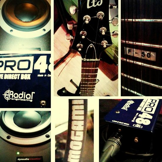 Recording GTR rock!