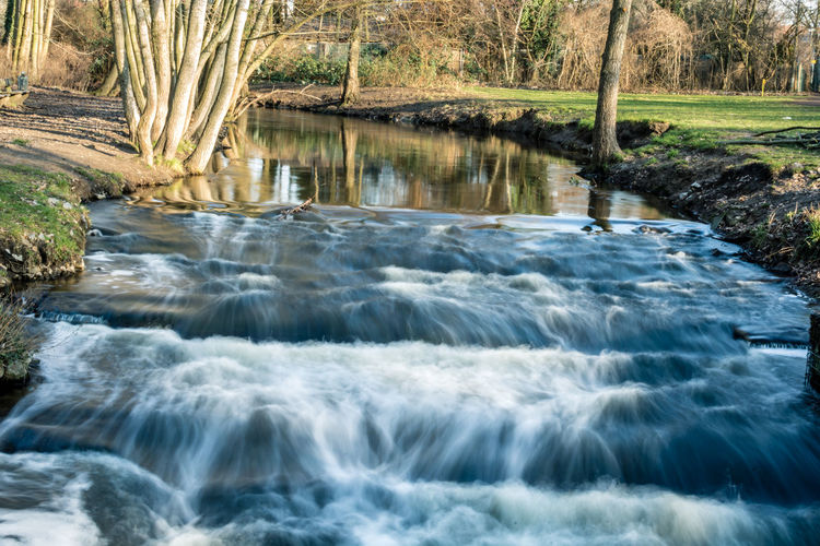 Water Motion Scenics - Nature Beauty In Nature Nature Blurred Motion Flowing Water No People Long Exposure Flowing River Waterfront Forest Day Aquatic Sport Sport Tree Rock Land Outdoors Power In Nature Purity Running Water
