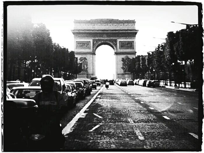 Champs-Élysées  Travel Photography Paris ❤ Taken On First Trip To Europe Black And White Photography Black & White EyeEm Best Shots - Black + White EyeEm EyeEm Gallery Canon_photos