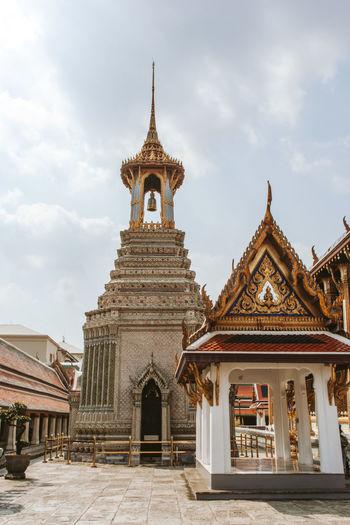 Buddhism temple in bangkok