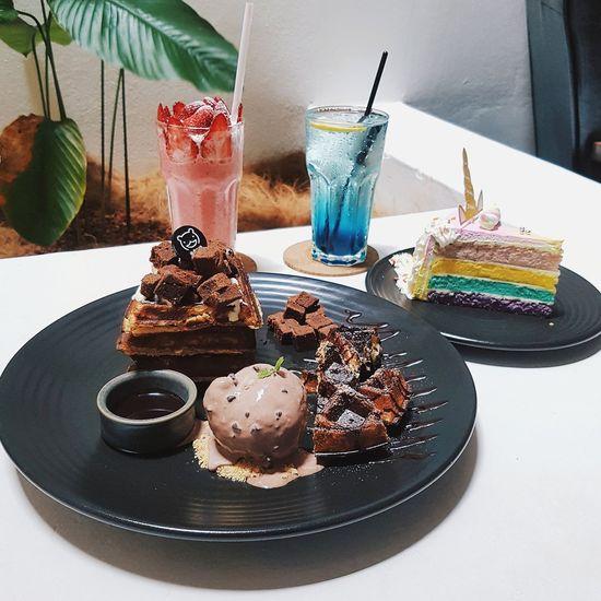 Dessert Dessert Drink Table Cake Chocolate Cake Chocolate Slice Of Cake Brownie