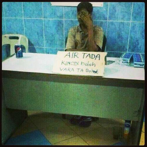 AIR TADA ~ KINCIN KINCIN BOLEH ~ Epicfail Kahkahkah Toilet Tandas