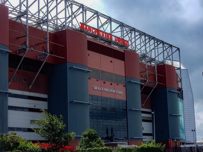 Manchester United Stadium Sir Alex Ferguson Football Architecture Heritage Statue Sport History