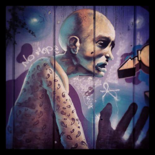 Art Close-up Creativity Garffiti Graffiti Graffiti Wall Lifestyles Multi Colored No Hope Old Man Portrait