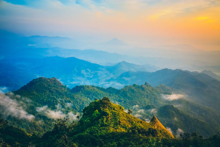 Mountains Landscape And Sea Mist With Sun Ray Background. Cloud - Sky EyeEm Best Shots Found On The Roll Horizon Over Land Idyllic Landscape Learn & Shoot: Simplicity Majestic Mist Mountain Range Mountains Nature Nature On Your Doorstep No People Non-urban Scene Outdoors Panorama Photography Phuchidao Scenics Sun Rays Thailand The Great Outdoors - 2016 EyeEm Awards The Great Outdoors With Adobe WeatherPro: Your Perfect Weather Shot Shades Of Winter
