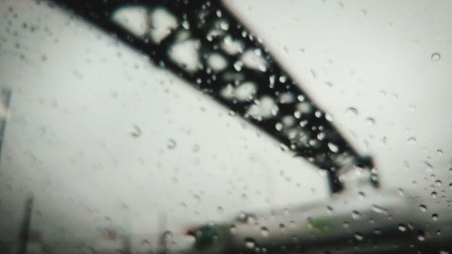 Water City Window Wet Close-up Sky Architecture RainDrop Rain