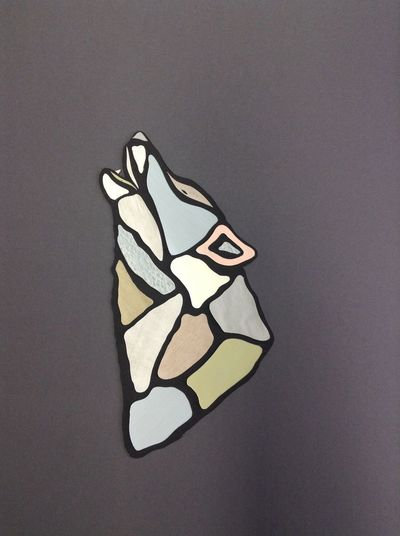 Animal Craft Cut Out Gray Indoors  Pattern Still Life Studio Shot Analogue Sound