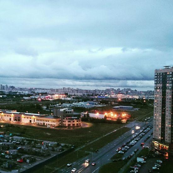 Street City Saint Petersburg Rain Lovely City Лето2015 Evening
