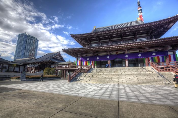 Japanese Temple Pagoda Architecture Asian Temple Building Exterior Built Structure City Day No People Outdoors Sky Temple Travel Destinations