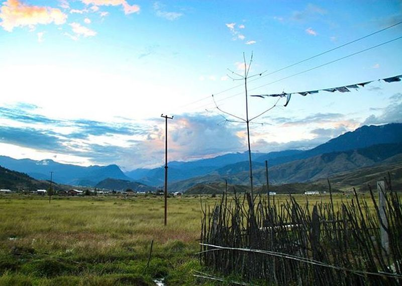 A peaceful moment in Arunachal Pradesh. One of my best road trips. Menchuka Valley IndiaTrail TheBirth ArunachalPradesh Magnificent