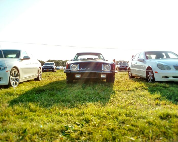 Avanti Avanti Car Cars Grass Green Green Fields Old Vintage Cars Vintage History Historic Historical Historical Car Auto Automobile Automotive Cool Sunshine Photographic Memory Parking Parking Lot
