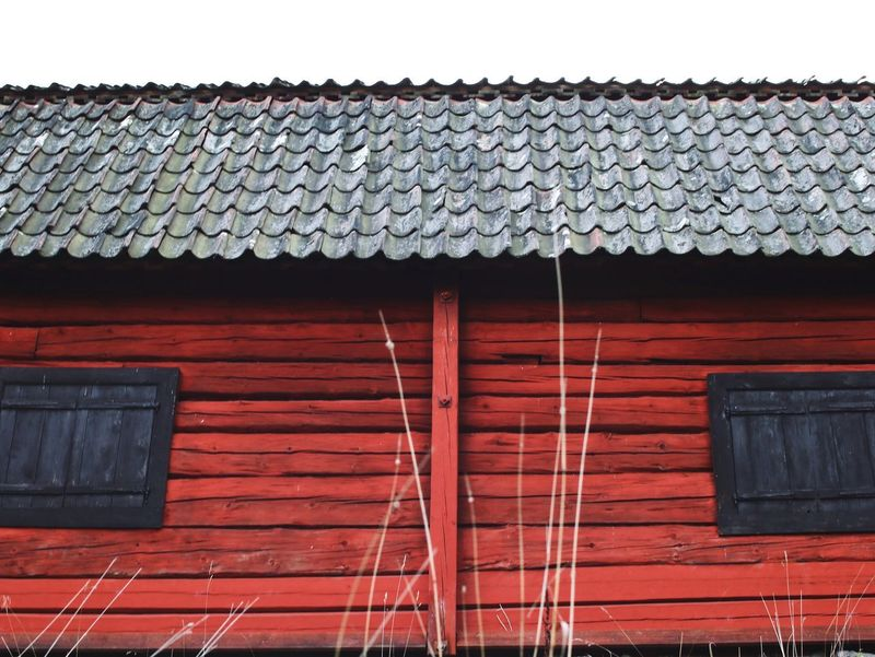 Roof Architecture Built Structure Building Exterior No People Day Outdoors Tiled Roof  Sky Countryside Old Buildings Old Barns Barn Autumn Autumn Mood