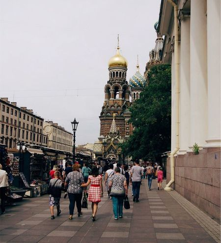 Building Exterior Built Structure Architecture Large Group Of People Spirituality Place Of Worship Religion Real People Travel Destinations Dome Day Women Men Outdoors Walking Lifestyles City Clear Sky Sky Adult Russia Санкт-Петербург Spb