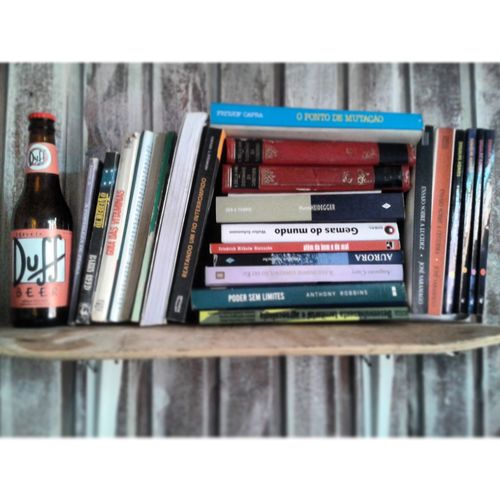 Duff Beer Books Enjoying Life Good Day