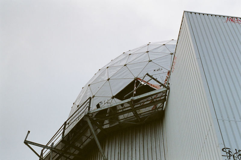 Architecture Built Structure Day Exterior Historical Building No People Outdoors Overcast Teufelsberg Teufelsberg Berlin
