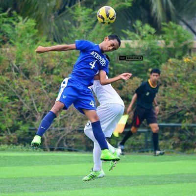@alilamcarlo ⚽ . . . UAAP Uaap77 Uaapseason77 ADMUvsUST juniors ateneo AdMU UST uste sbspotlight soccerbible football themanansala
