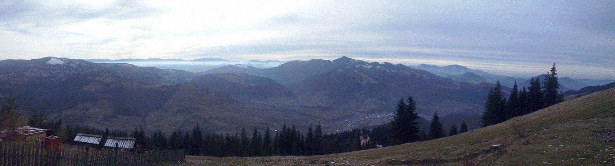 Panorama Mountains Autumn