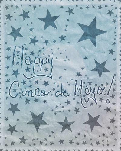Happy Cinco de Mayo! Full Frame No People Digital Art Pen Ink Font Handwritten Illustration Streamzoofamily Mikefl99 ArtWork Freshness Paper Cinco De Mayo 2017