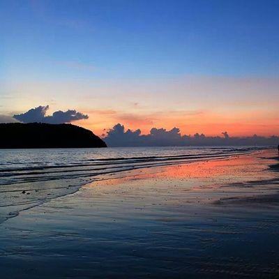 Sunrise at the sea side - Khao Sam Roi Yot