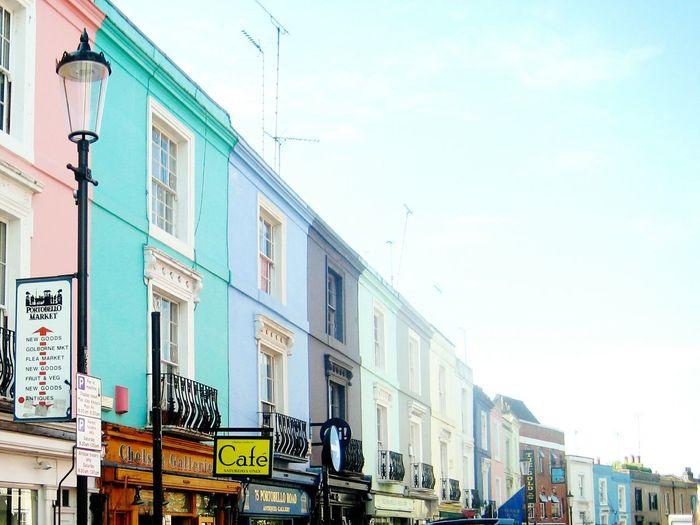 Portabellomarket Architecture Dwellings Colorful Market Pastel Colours Housing London Colour Of Life