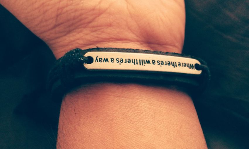 Hand Accesories Accessory Accessories ❤ Accessoires Quotes Wristbands Motivational Motivational Quotes Best Quote Best Quote :) Best Quote In The World  Quotation Best Words Inspirational Inspiring Inspirational Words Inspirational Quote Inspirational Quotes  InspirationalQuotes Handband Where There Is A Will There Is A Way Where There Is A Will... Wristband Wrist