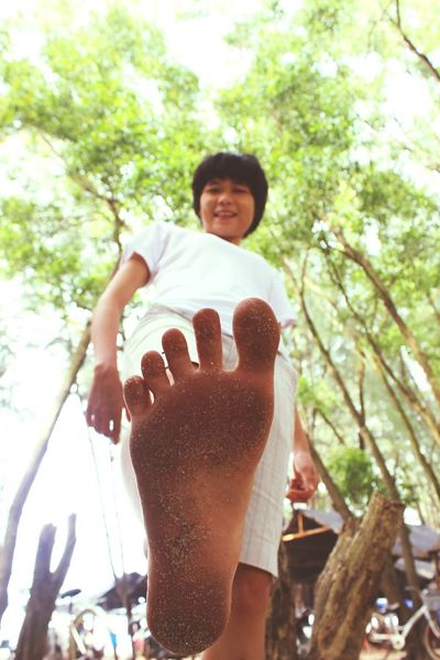 Barefoot Vietnam Mysister Wonderfull Place Lagibeach