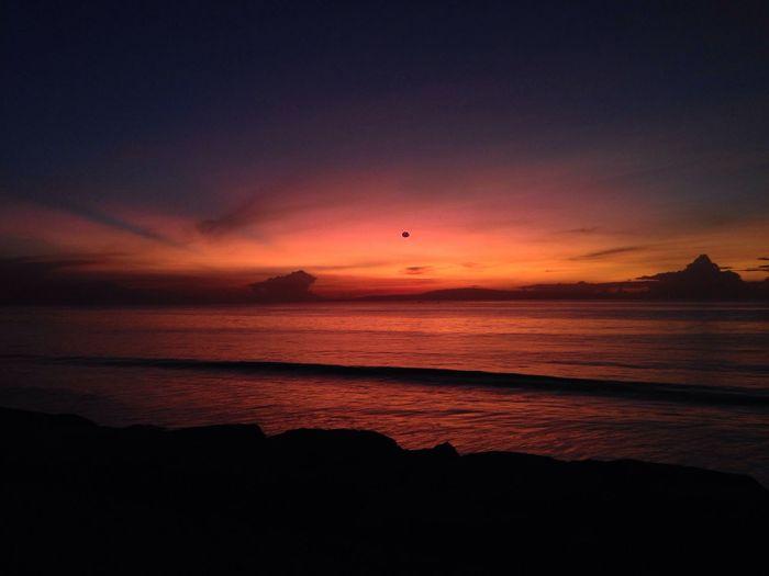 no filter Sunrise Bali Beach Amazing View Enjoying The Sun