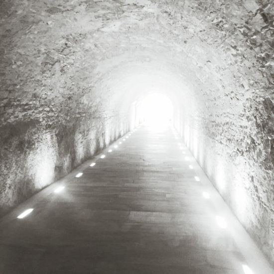 Light At The End Of The Tunnel Monochrome